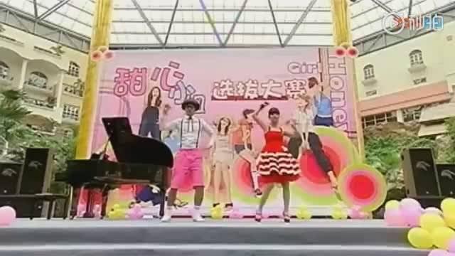 """早就有着""""亚洲舞王""""称号的罗志祥在电视剧《海派甜心》里和杨丞琳一"""