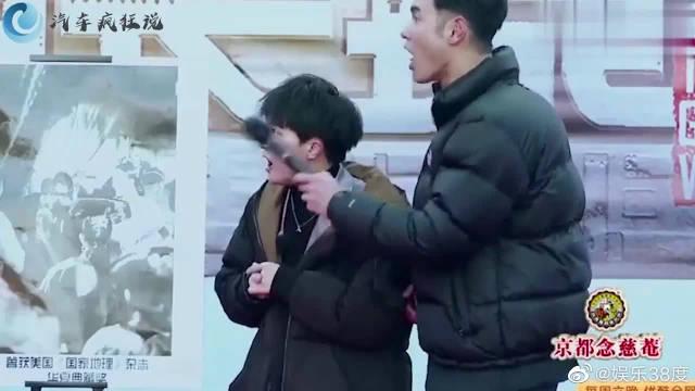 女摄影师出场,和刘烨撒狗粮,超齁!