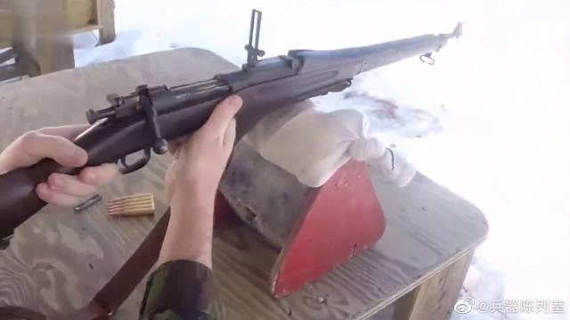 风靡一战二战M1903春田步枪,性能不输98K李恩菲尔德