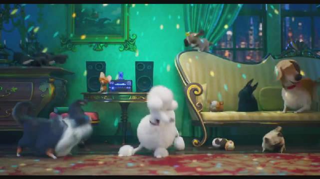 """照明娱乐《爱宠大机密2》最新宣传片""""跳舞篇""""公开"""