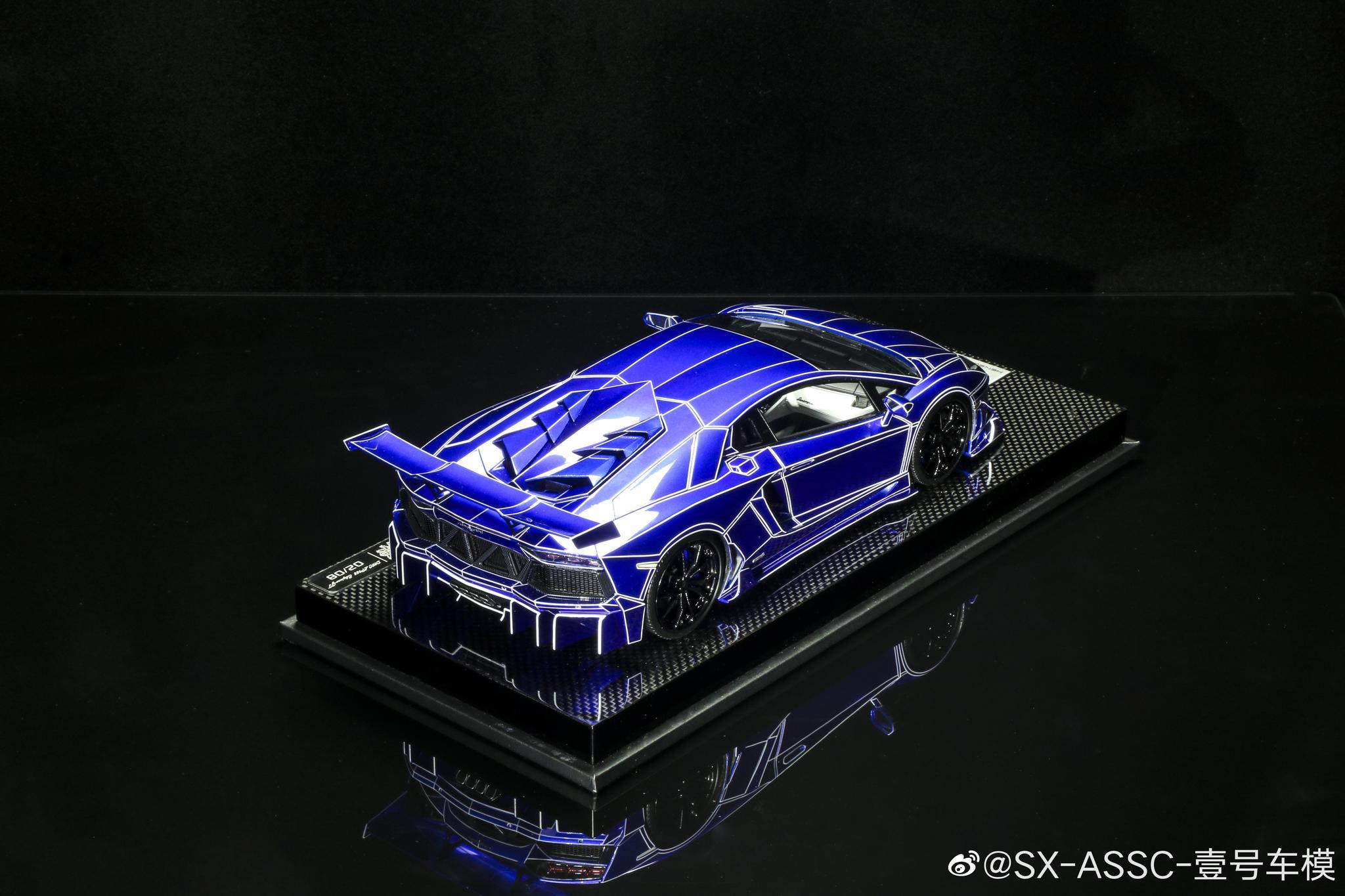兰博基尼 Aventador DMC 改装版 汽车模型 1