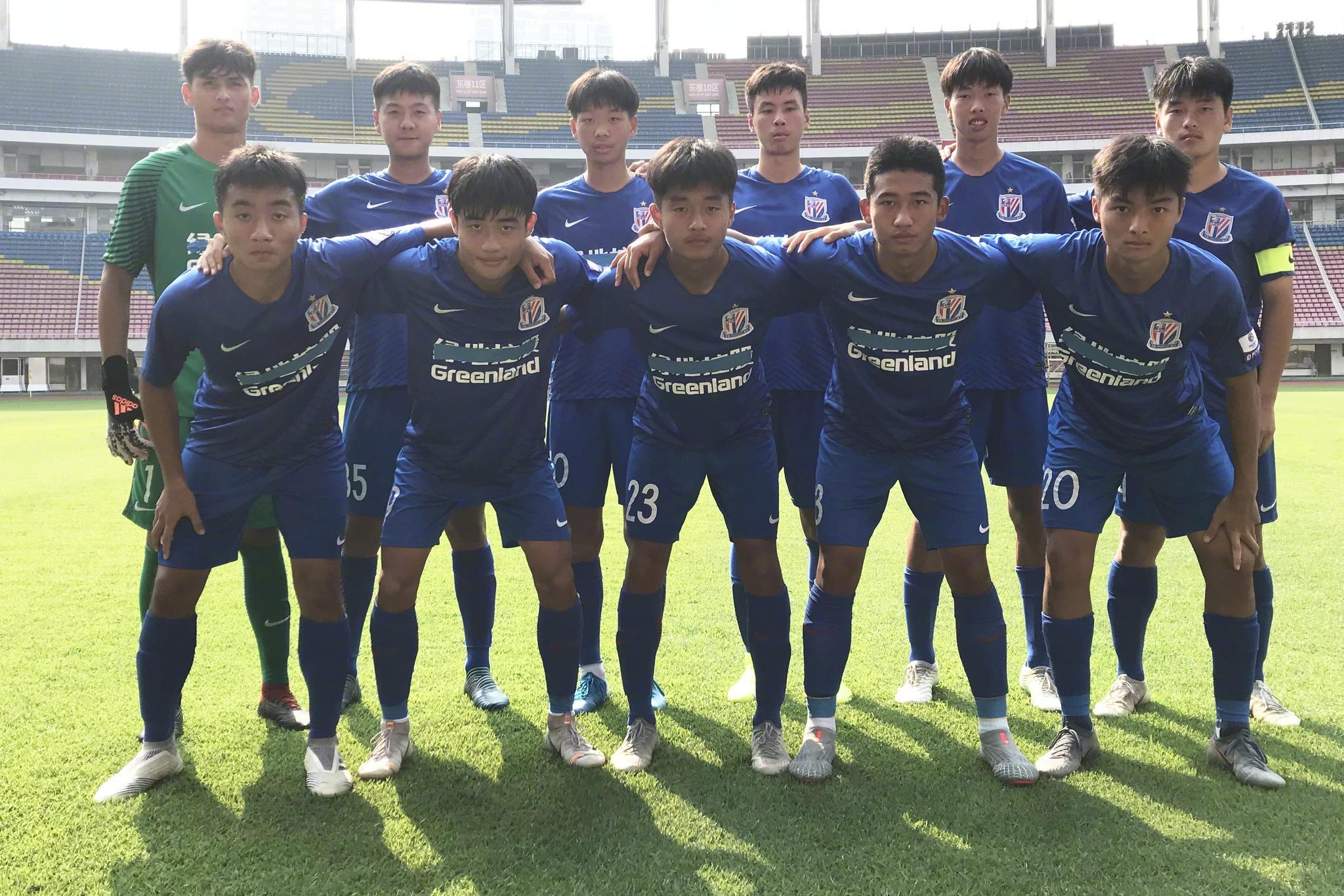 因U18中国国家男足备战2020年亚洲U19青年足球锦标赛的比赛