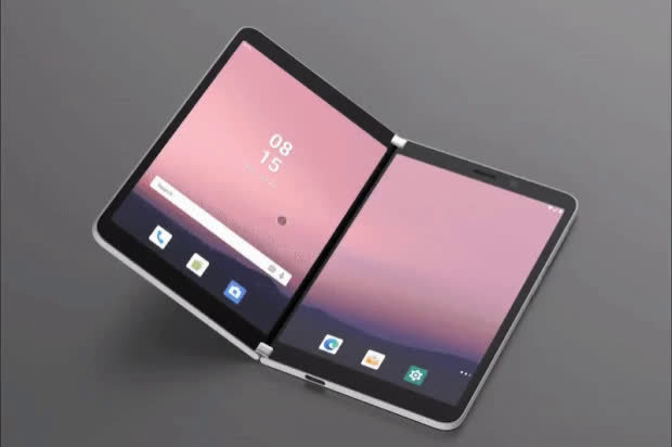 微软Surface Duo双屏安卓手机桌面UI曝光