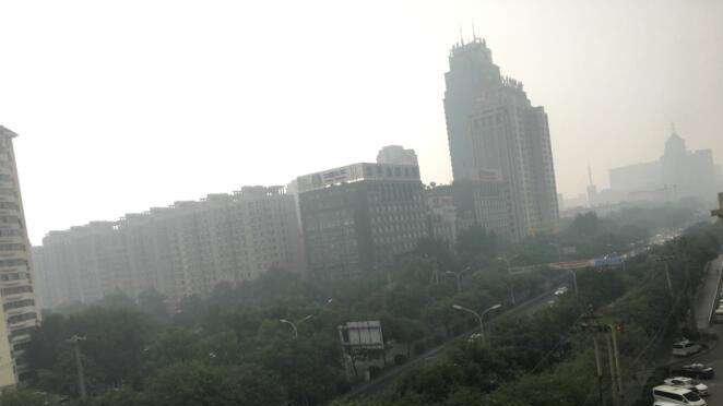 23日至24日上午京津冀等地大气扩散条件较差
