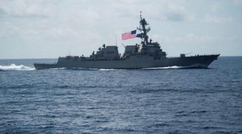 一周内多次抵达西太平洋,美军舰再次岛礁抵近挑衅,大国不再警告