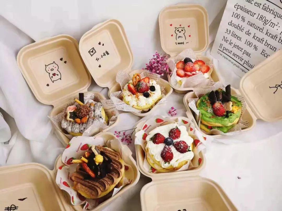 最近大火的网红韩式手绘便当盒子蛋糕,你get了吗 蛋糕 盒子 奶油 新浪网