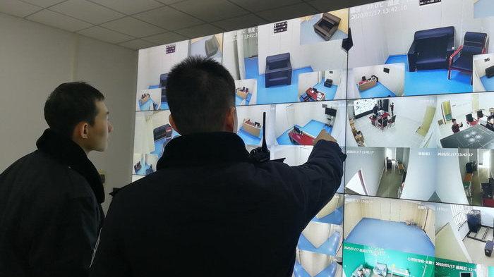 北辰区检察院政治部法警队加班加点全力保障机关办案安全