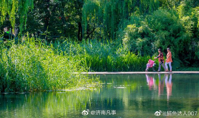 章丘眼明泉公园 ,你去过吗?摄影@捕鱼达人007