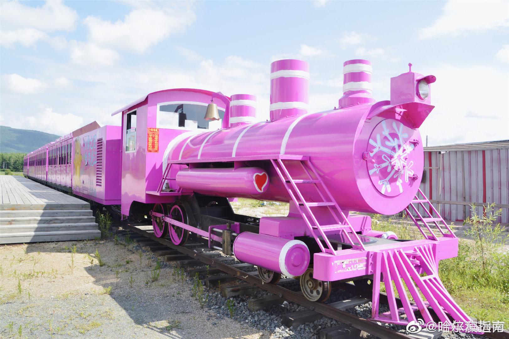 开往幸福的亚布力森林小火车,正在等你上车
