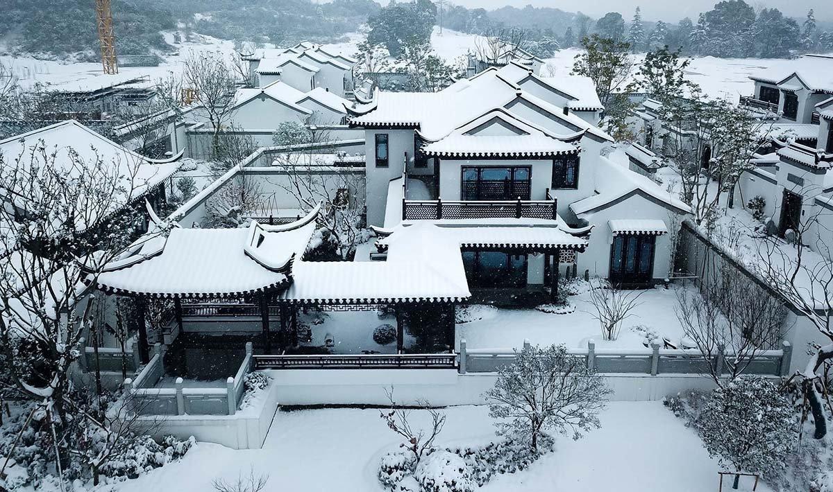 北京春风/云林青墨建筑设计+悉地(浙江)一层农家乐三合院设计图图片