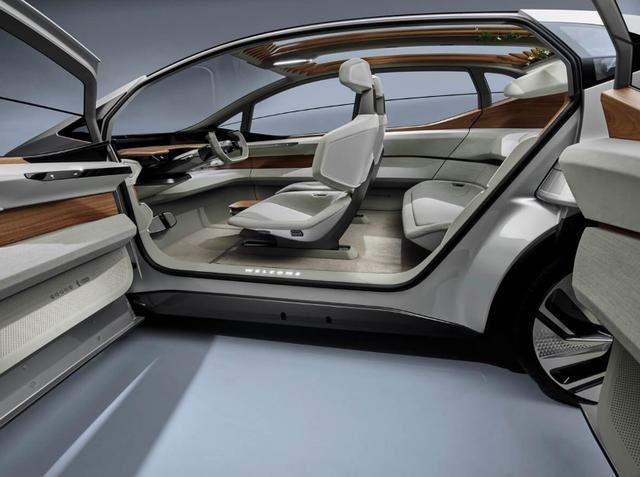 奥迪全新概念车,将客厅搬进车里,有生之年估计开不上