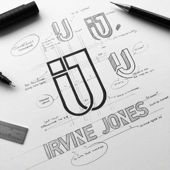 品牌logo应用辅助线的辅助|设计线|沙盘logo|设品牌设计师图片