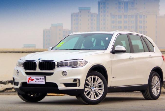 汽车:BMW X5,一款中型多用途车的原型插电式混合动力电动汽车