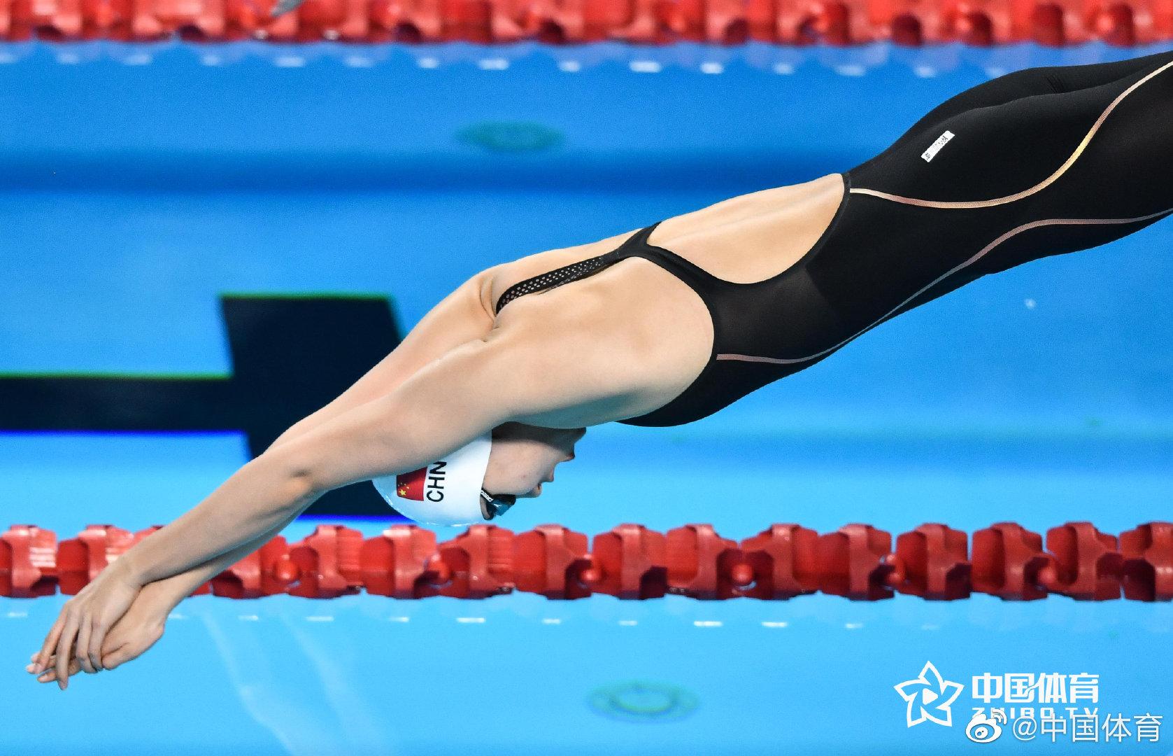 最强00后!17岁杨浚瑄获200米自由泳冠军