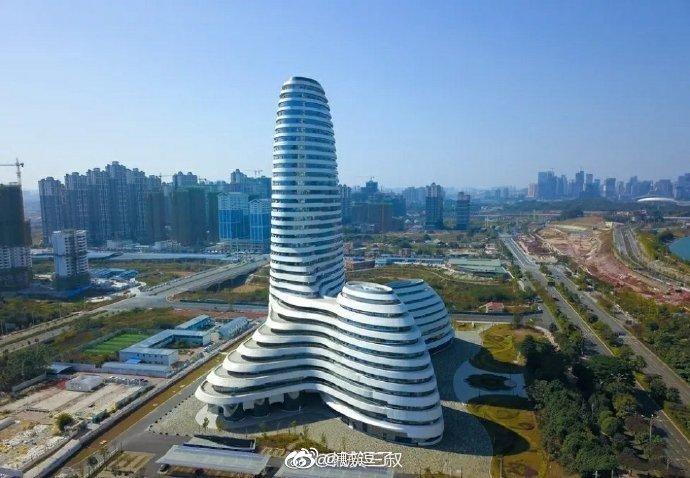 广西新媒体中心建设完成,部分楼层投入使用
