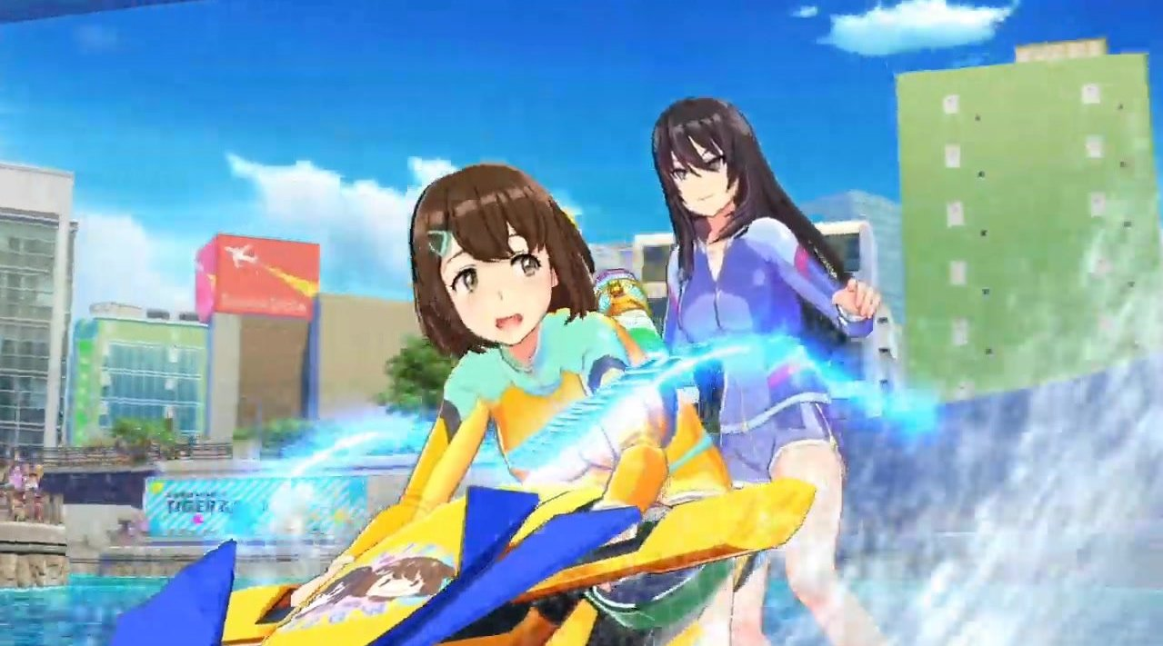 PS4美少女水上竞速游戏《神田川JET GIRLS》公开一段序篇影像