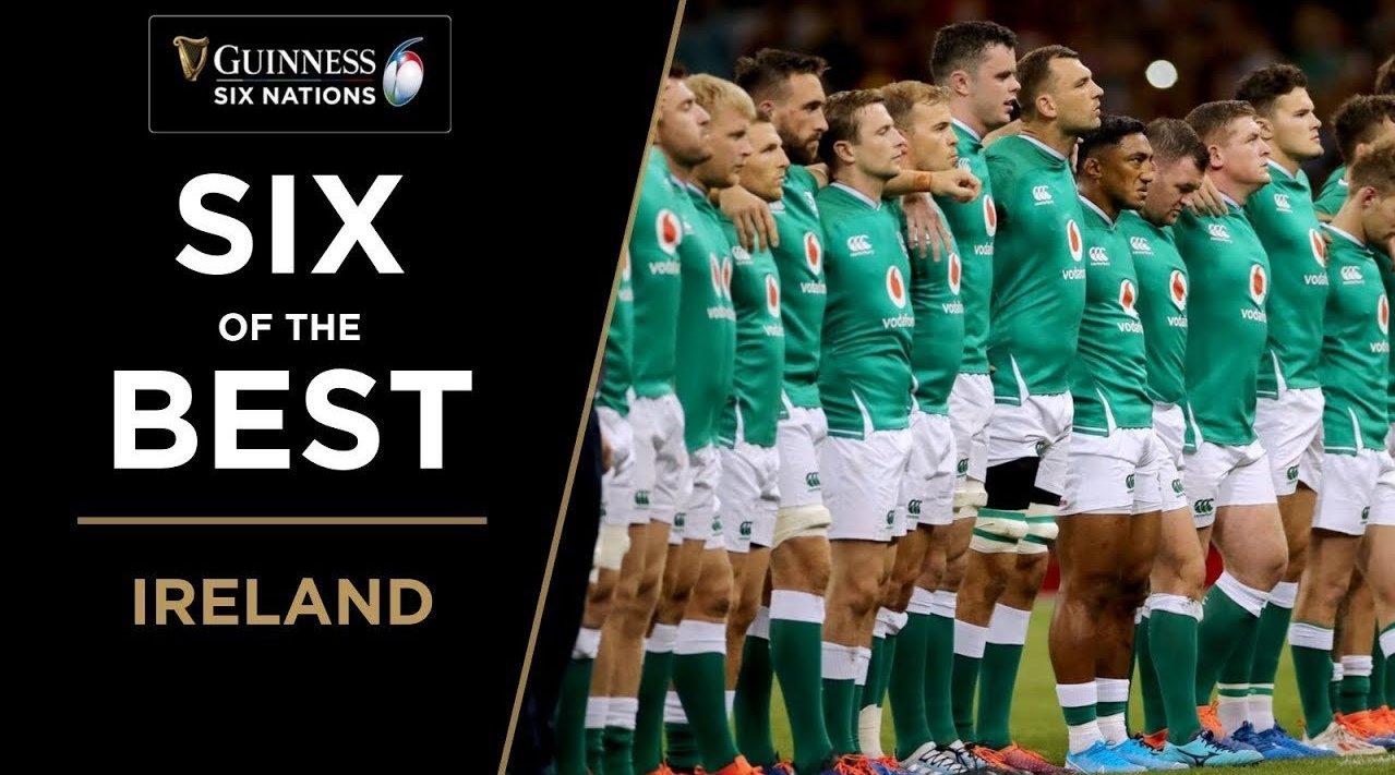 六国赛六宗最 爱尔兰传接组合9号康纳·穆雷和10号乔尼·塞克斯顿的