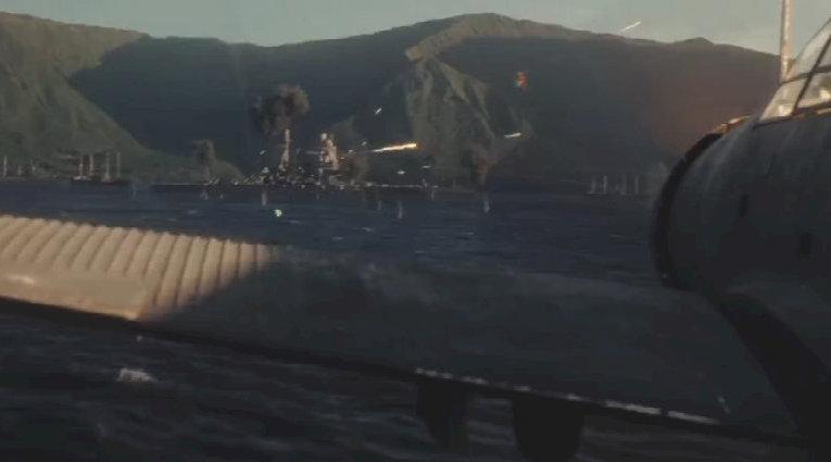 决战中途岛:美军舰载机空袭马绍尔群岛的日军港口