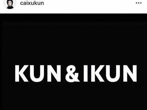 蔡徐坤ins更新: KUN&IKUN 想说的话太多总被收回