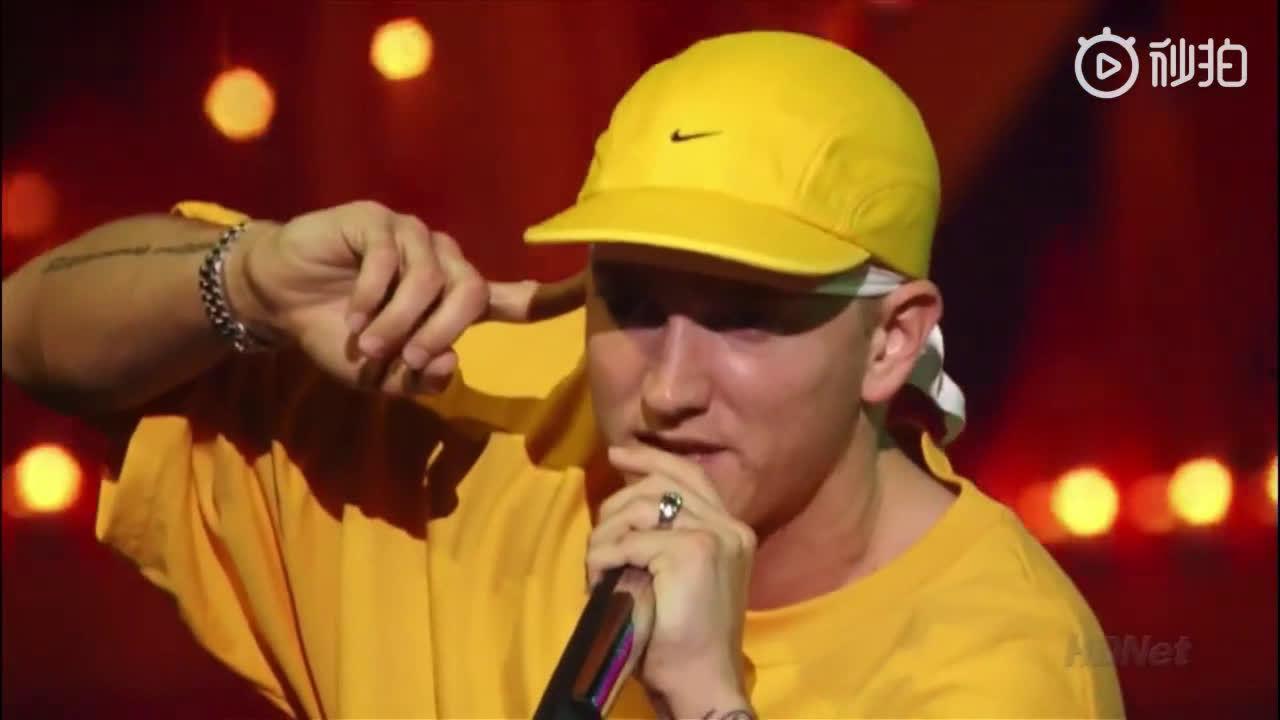 Eminem x Proof 2002年底特律现场