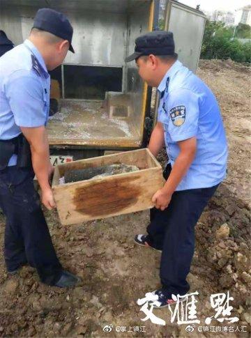 镇江一工地发现5枚废旧炮弹 其中4枚系日军榴弹炮