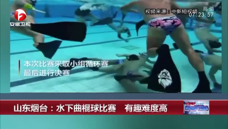 水下曲棍球比赛  有趣难度高