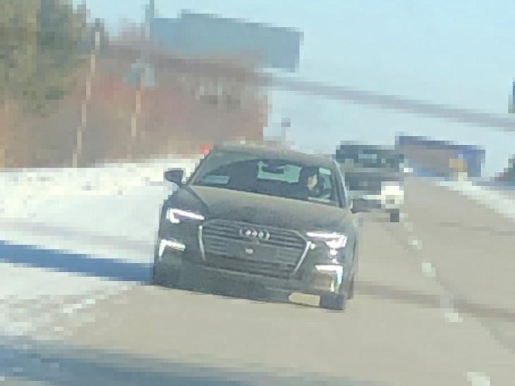 新款奥迪A6L e-tron实车曝光 外观更年轻 动力或大幅提升