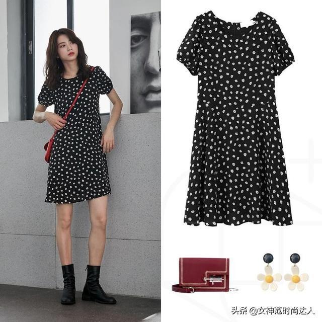 潮流的连衣裙搭配,时尚大气凸显魅力,穿在身上非常美