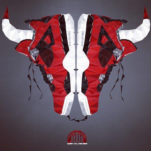 球鞋艺术---钻石切割风格的球鞋!