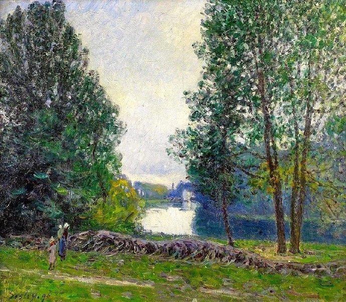 英国  印象派画家 · Alfred Sisley