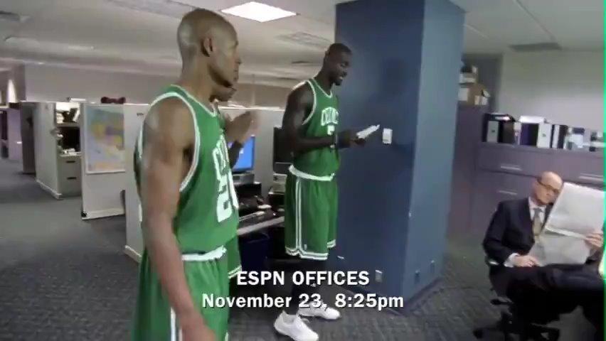 """12年前,凯尔特人迎来了凯文加内特,""""波士顿三巨头""""诞生了"""