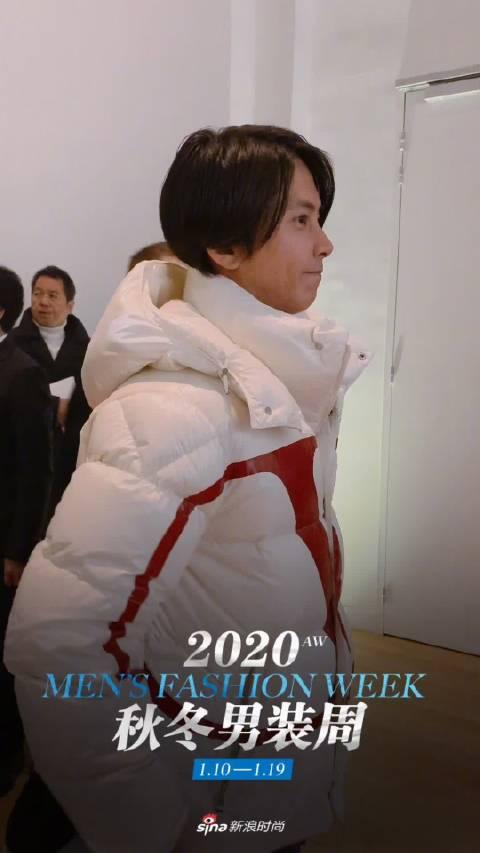 日本男星@山下智久_Yama-P 助阵Valentino2020秋冬男装大秀