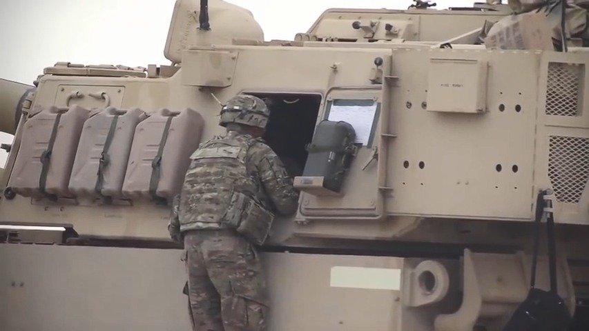 M109A7 155毫米自行火炮内部实弹上膛射击全过程