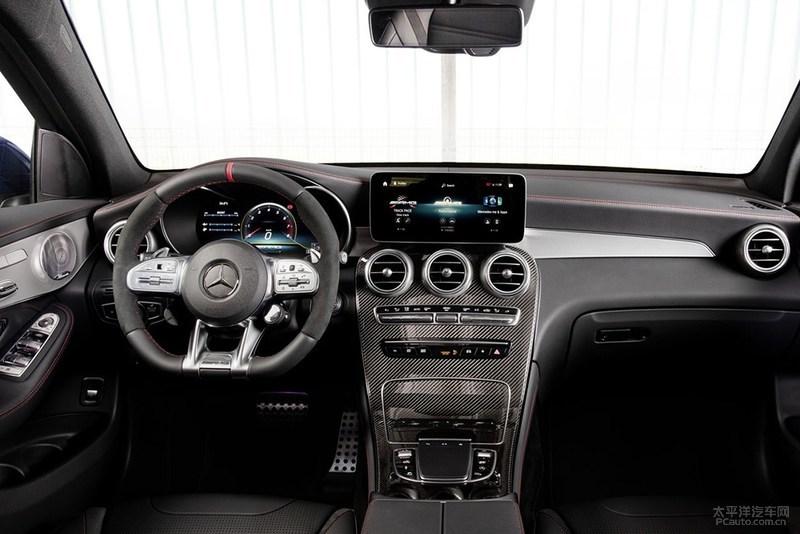 新款梅赛德斯-AMG GLC43官图发布,动力小幅提升