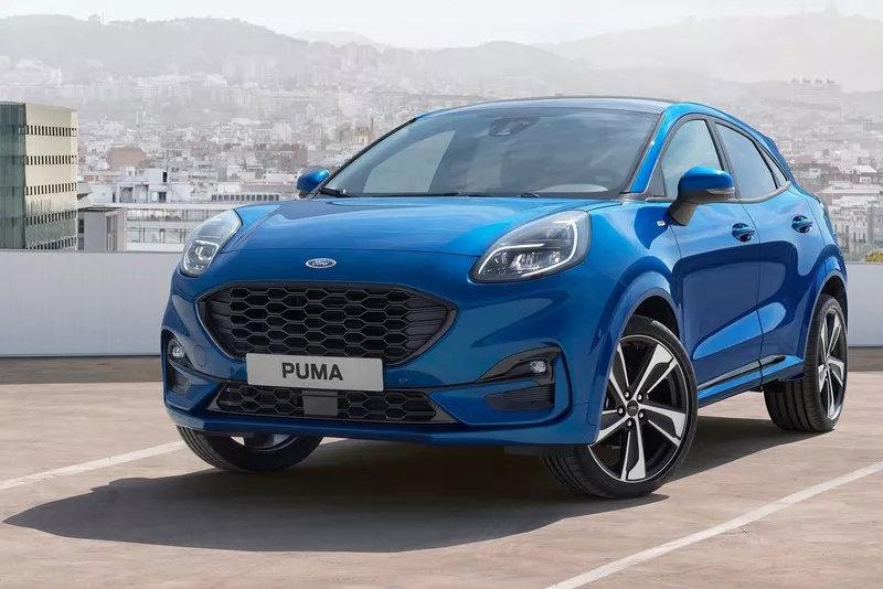 福特新车PUMA亮相法兰克福车展,明年有望引入国内