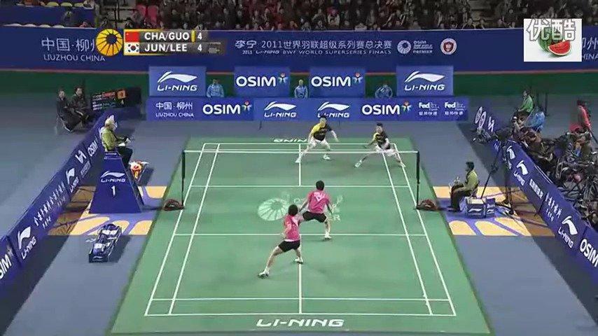 2011总决赛半决赛 柴飚/郭振东VS郑在成/李龙大 highlights