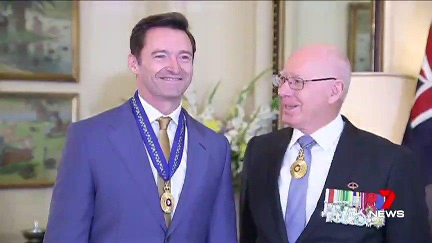 阿休在堪培拉被授予澳大利亚勋章的视频,阿休不仅是一个优秀的演员