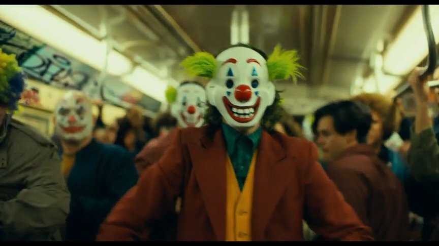 2019威尼斯电影节最佳影片《小丑joker》预告片