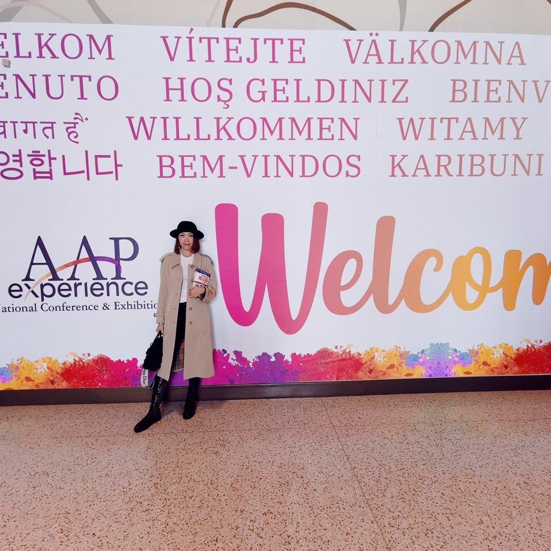 受邀参加AAP美国儿科学会大会,从新手妈妈一路走来