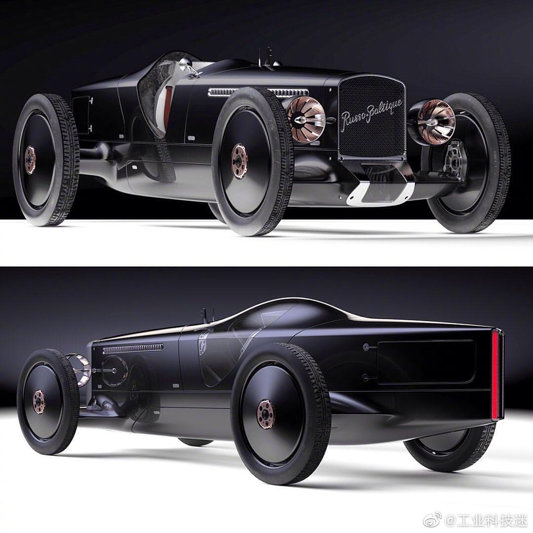 俄罗斯豪车罗素-波罗复古未来汽车概念设计,符合你的身份吗?