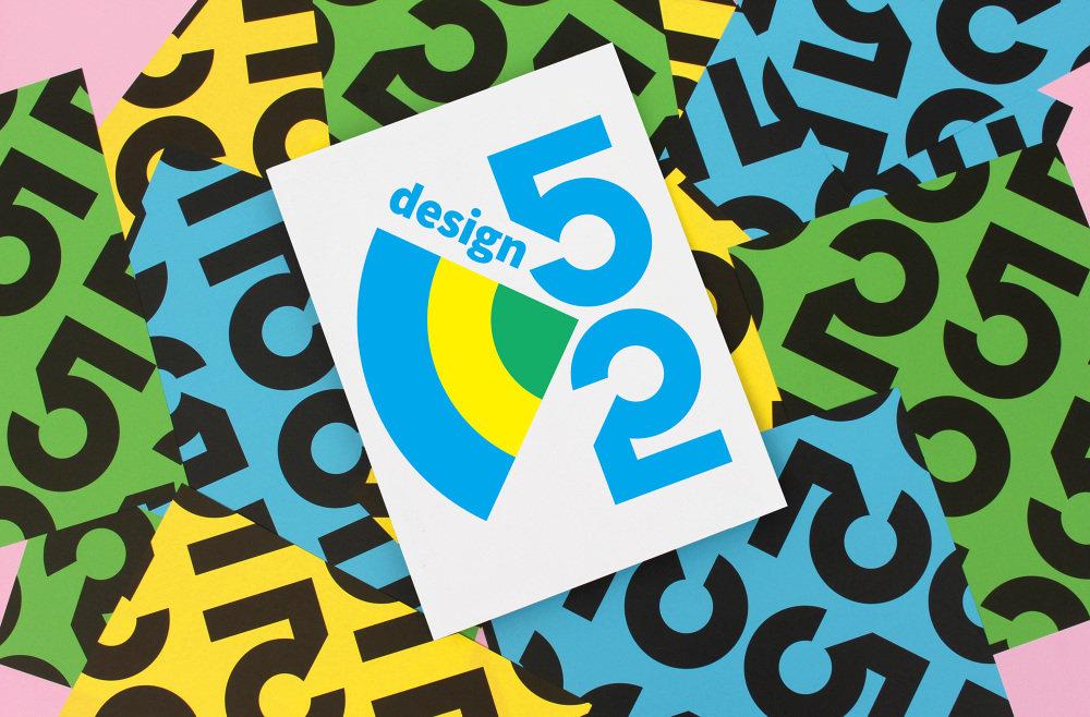 Design 52 视觉识别系统by Paper Press