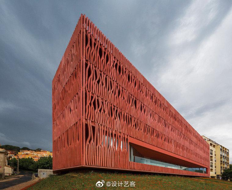 建筑设计,法国海洋观测站国际住宿中心