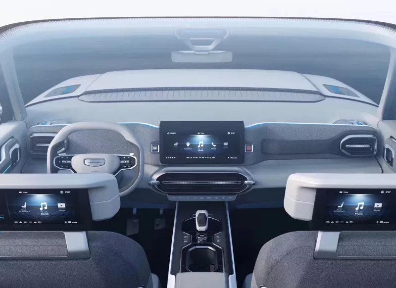 吉利SX12定名icon,设计前卫先锋,来自未来5年的全球车
