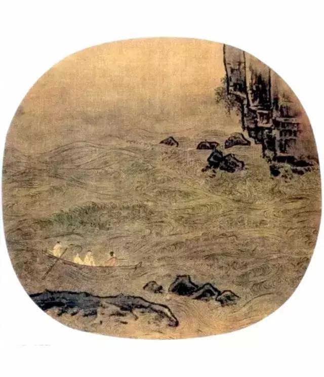 盈盈水间,脉脉不语,中国画的水法百图
