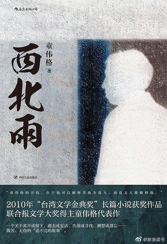 《西北雨》:联合报文学大奖得主童伟格代表作