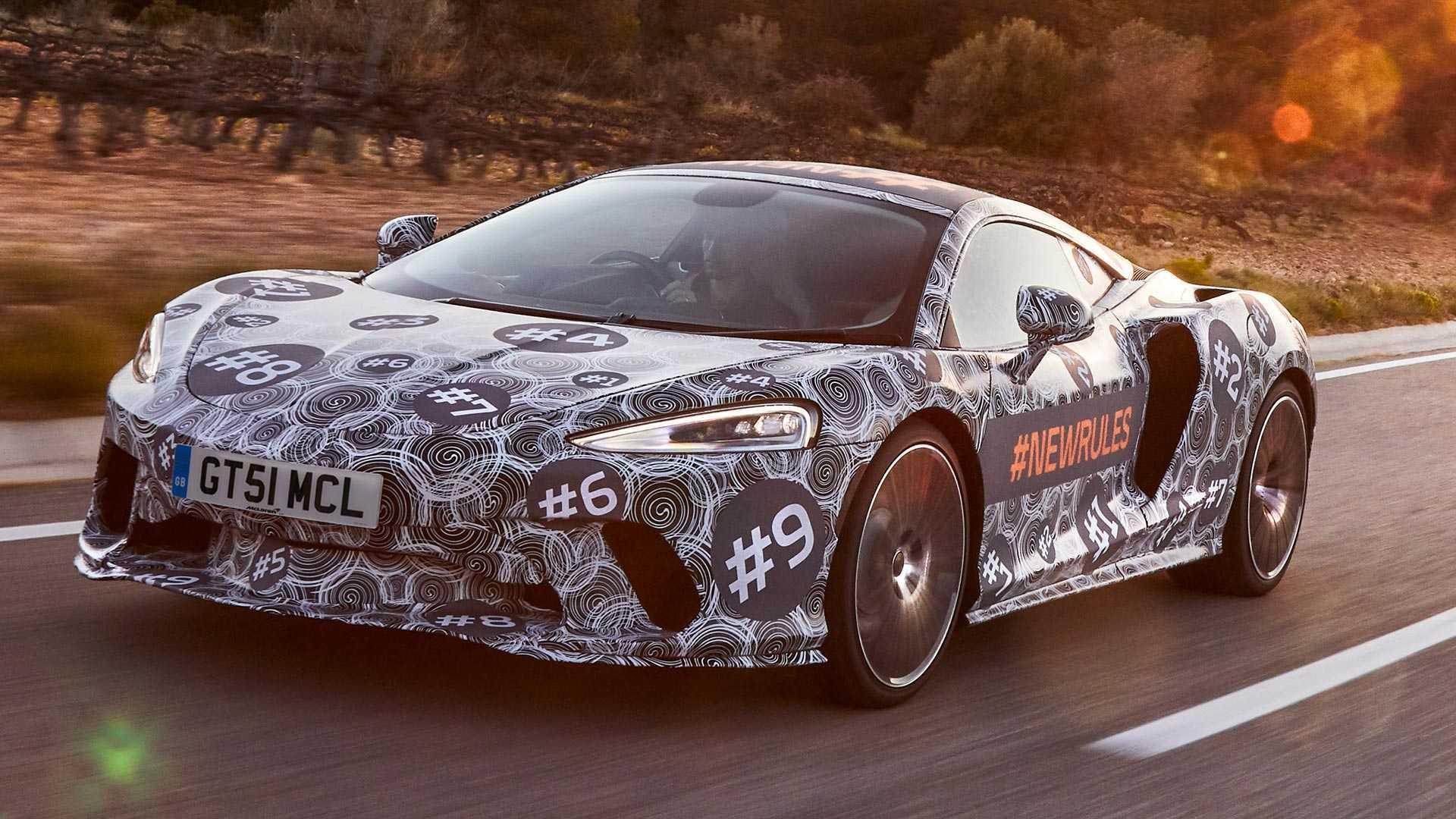 迈凯伦全新GT车型最新谍照,预计五月份亮相