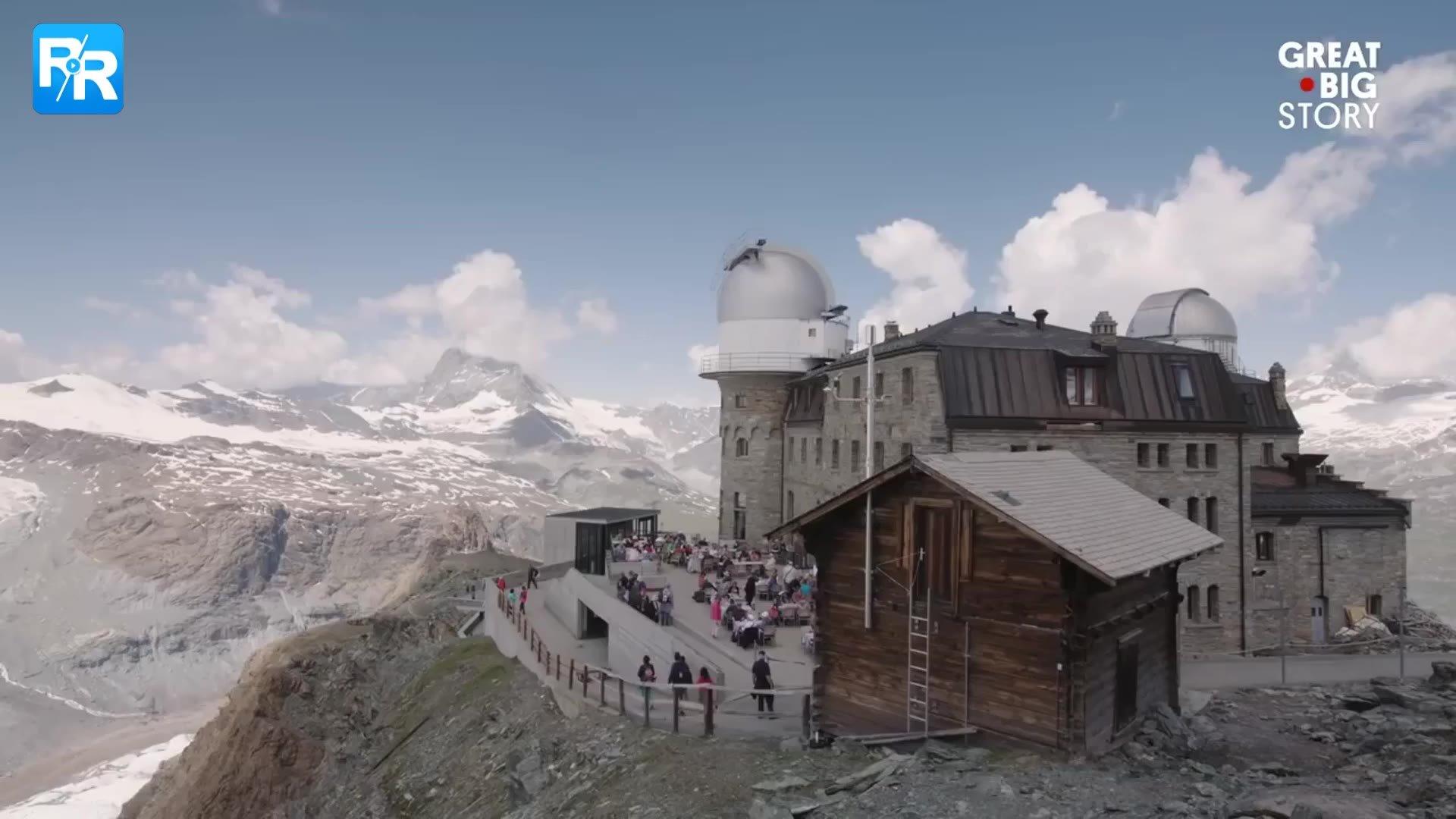 足不出户看流星!瑞士阿尔卑斯山的这家酒店可以满足你