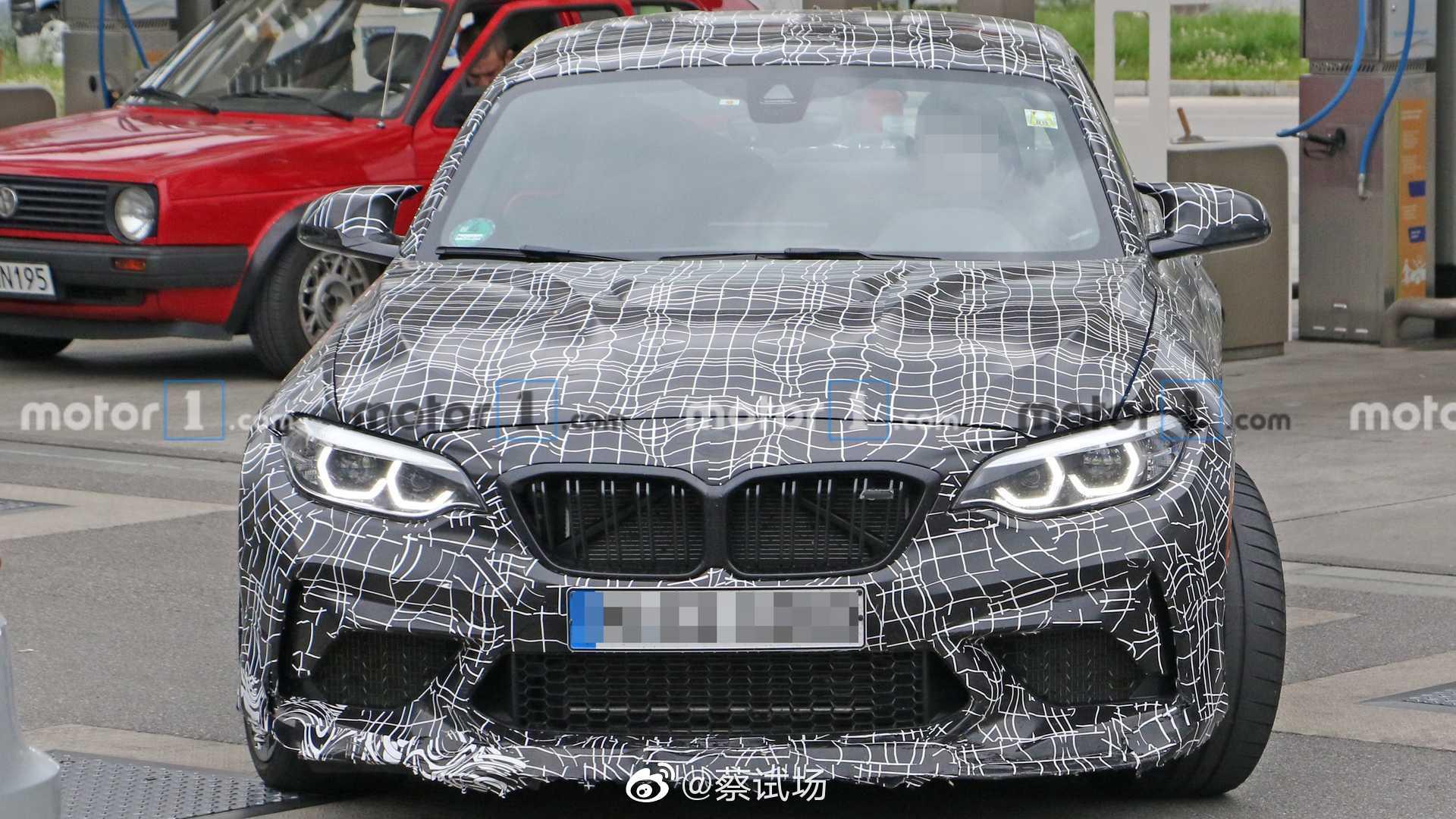 宝马M2 CS细节曝光:据参加比利时VIP预展的车迷透露