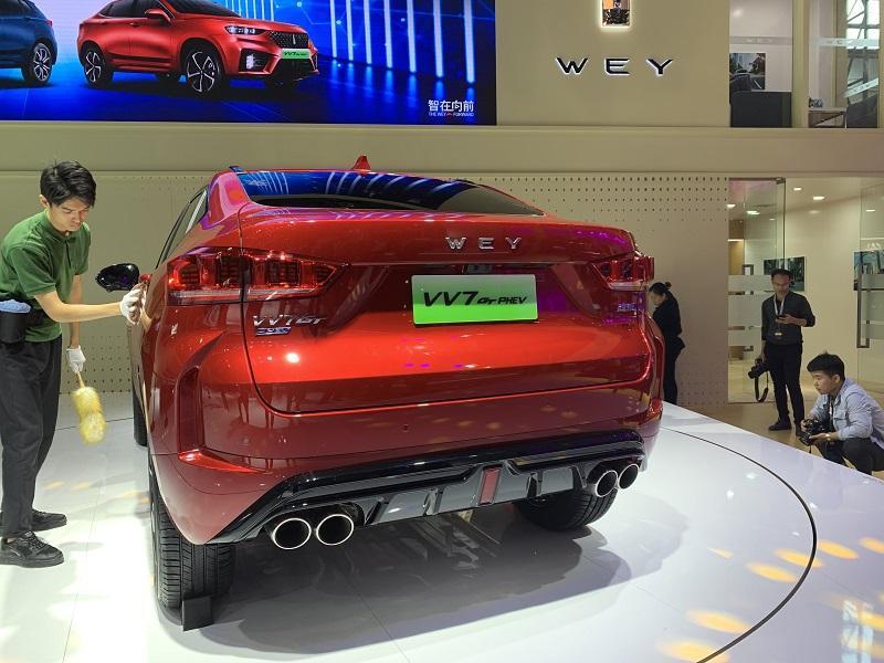2019广州车展丨WEY VV7 PHEV/VV7 GT PHEV售21.98万元起
