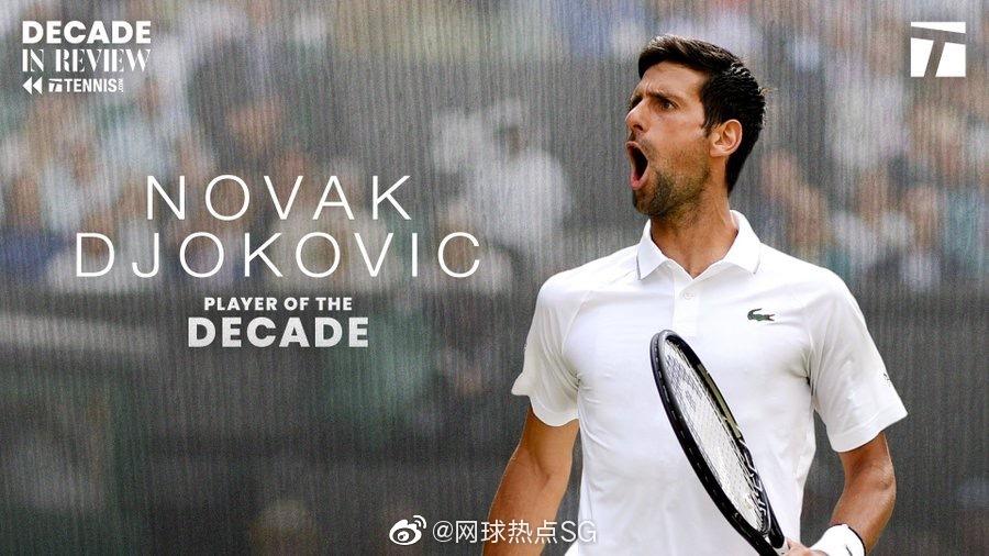 外媒评价诺瓦克·德约科维奇无疑是近十年男子网坛最佳运动员